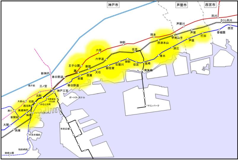 神戸サービスエリア